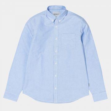 Button Down Pocket Shirt Bleach
