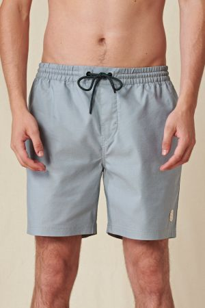 Clean Swell Poolshort - Steal Blue