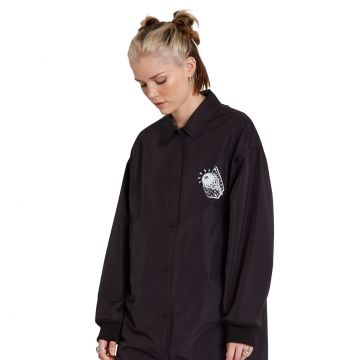 Vlong Coach Jacket - black