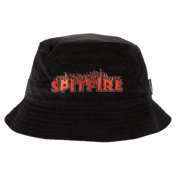 Flash fire bucket hat - black