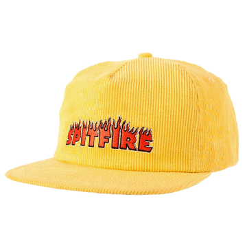 flash fire cap - yellow