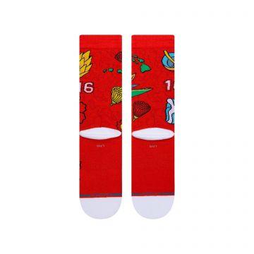 Stance Kolten Socks - red
