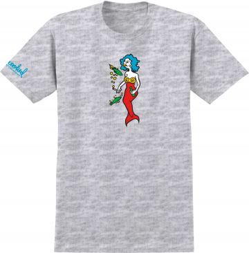 Mermaid shirt - ash grey