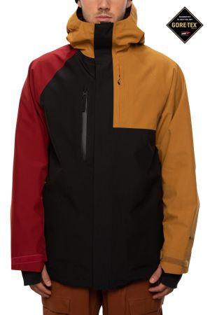 Gore Tex Core Jacket golden brown/colourblock