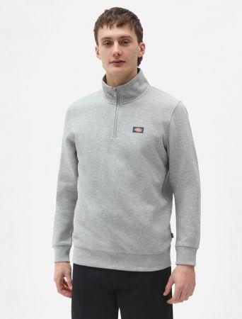 Oakport Quarter Sweatshirt - grey melange
