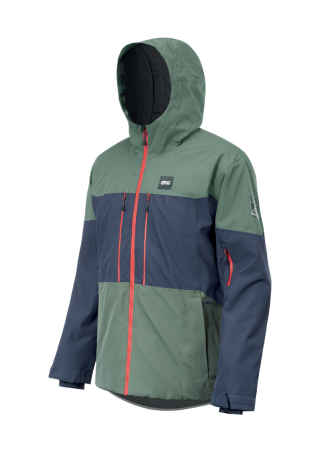 Picture Object Jacket dark blue/lychen green