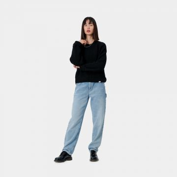 Pierce Pant - light stone blue