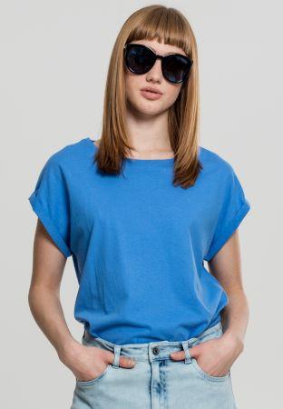 Extended Shoulder Shirt - Horizont blue