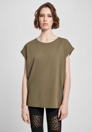 Extendes Shoulder Shirt - olive