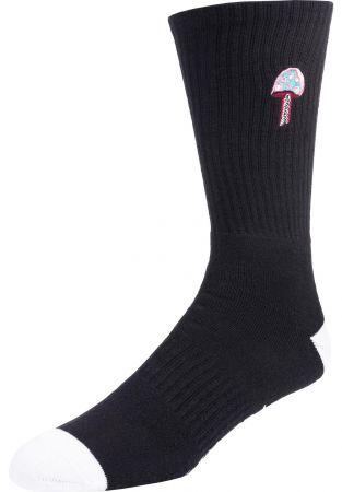 Shrooms Socks - black/white