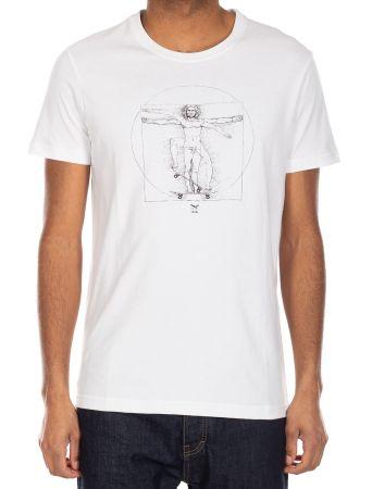 Skatevinci Shirt - white