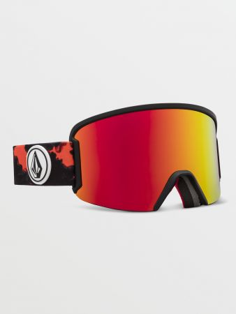 Garden Goggle Smoke/ Red Chrome