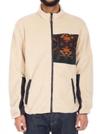 wonderer track jacket - khaki